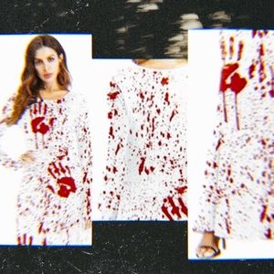 Dresses & Skirts - Bloody Handprint Maxi Dress